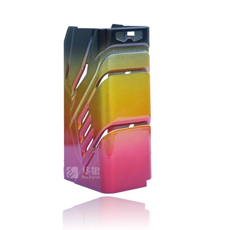 七彩色电子烟外壳压铸件