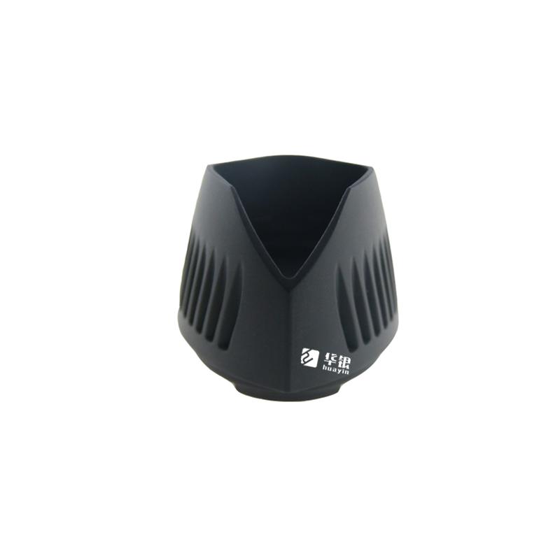 LED灯具外壳-铝合金压铸烤漆黑色工艺-华银压铸