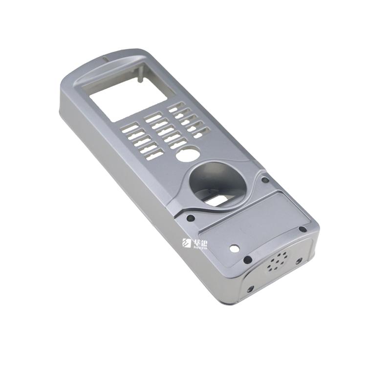 智能家居指纹锁外壳-铝合金压铸件喷砂工艺